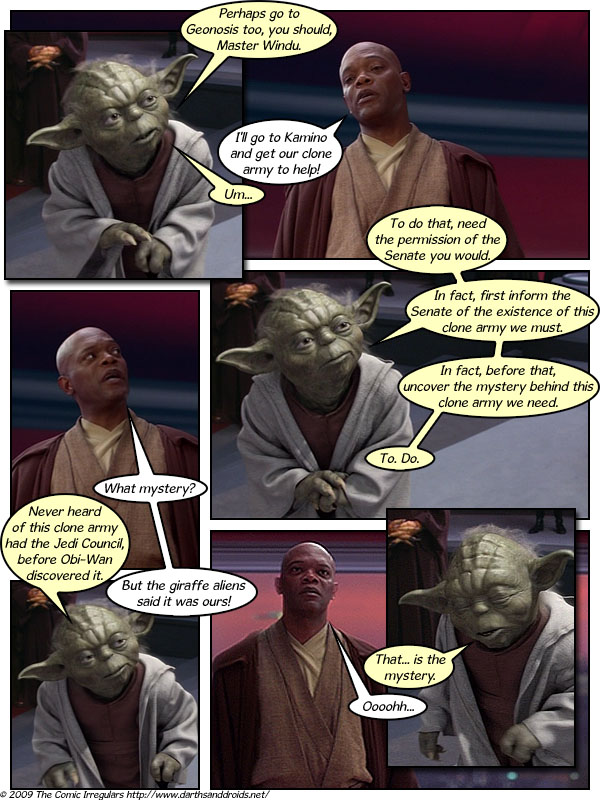 Episode 323: Mace Windu, Where Are You!