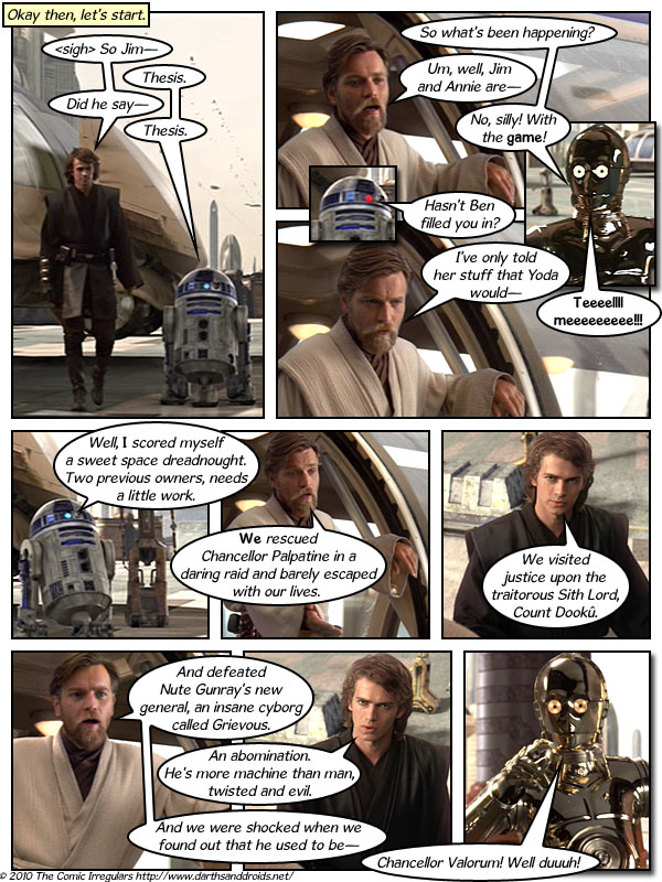 Episode 483: Previously on Darths & Droids...