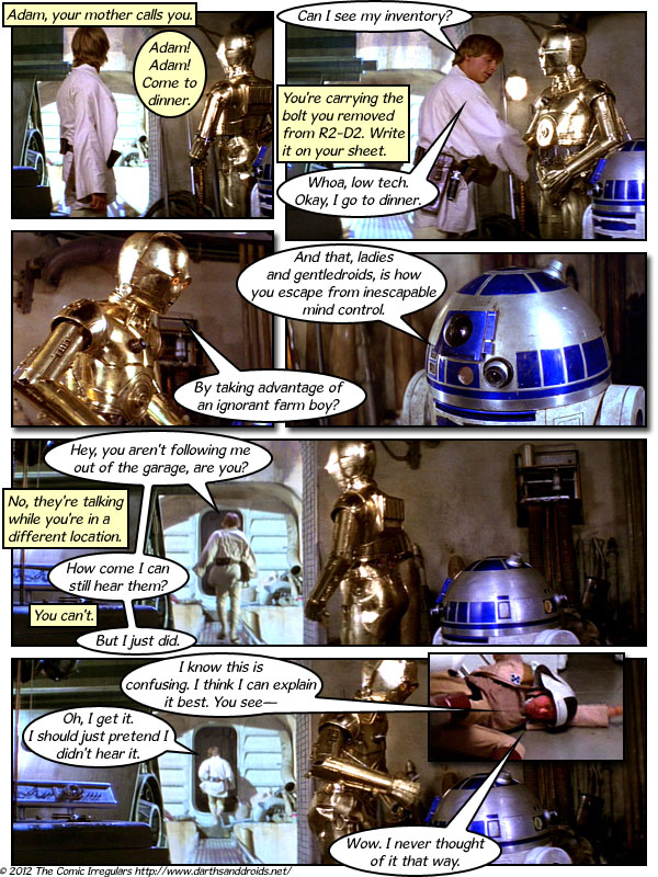 Episode 707: Hear No Evil, C-3PO No Evil